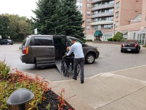 wheelchair taxi during COVID-19